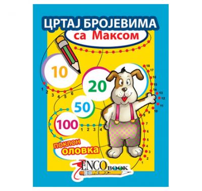 Crtaj brojevima sa Maksom