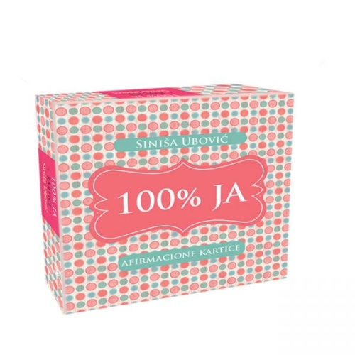 100% Ja afirmacione kartice sa kutijom