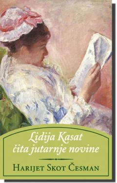 Lidija Kasat čita jutarnje novine