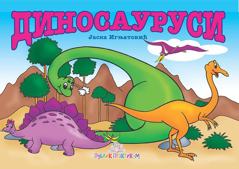 Dinosaurusi – Kartonska slikovnica