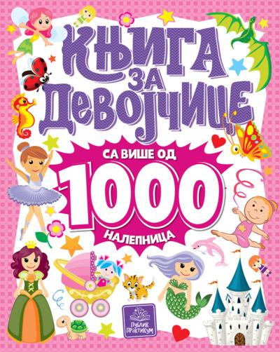 Knjiga za devojčice - sa više od 1000 nalepnica
