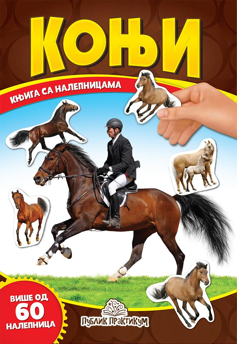 Konji – Knjiga sa nalepnicama