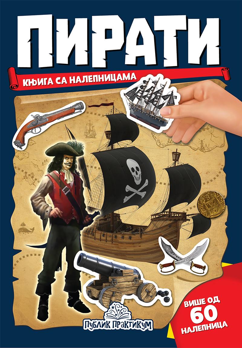 Pirati – Knjiga sa nalepnicama