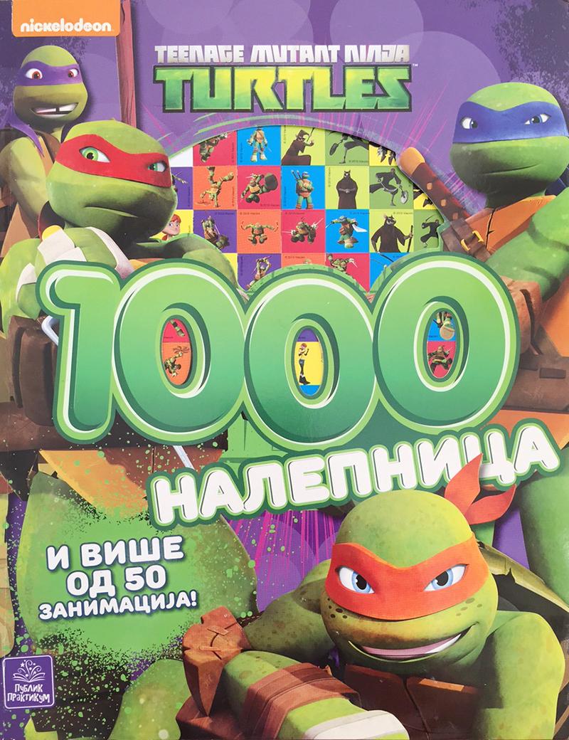 TMNT 1000 NALEPNICA