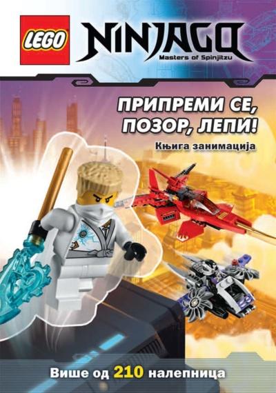 LEGO NINJAGO – Pripremi se, pozor, lepi! 213 nalepnica