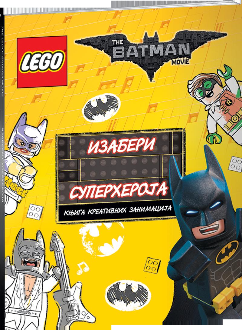 THE LEGO® Batman Movie – IZABERI SUPERHEROJA