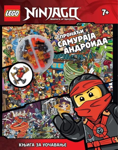 LEGO NINJAGO – Pronađi samuraja androida