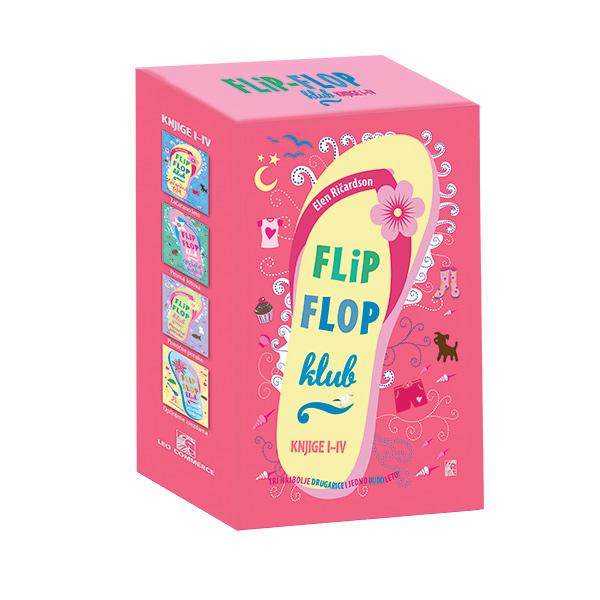 KOMPLET FLIP FLOP KLUB I-IV