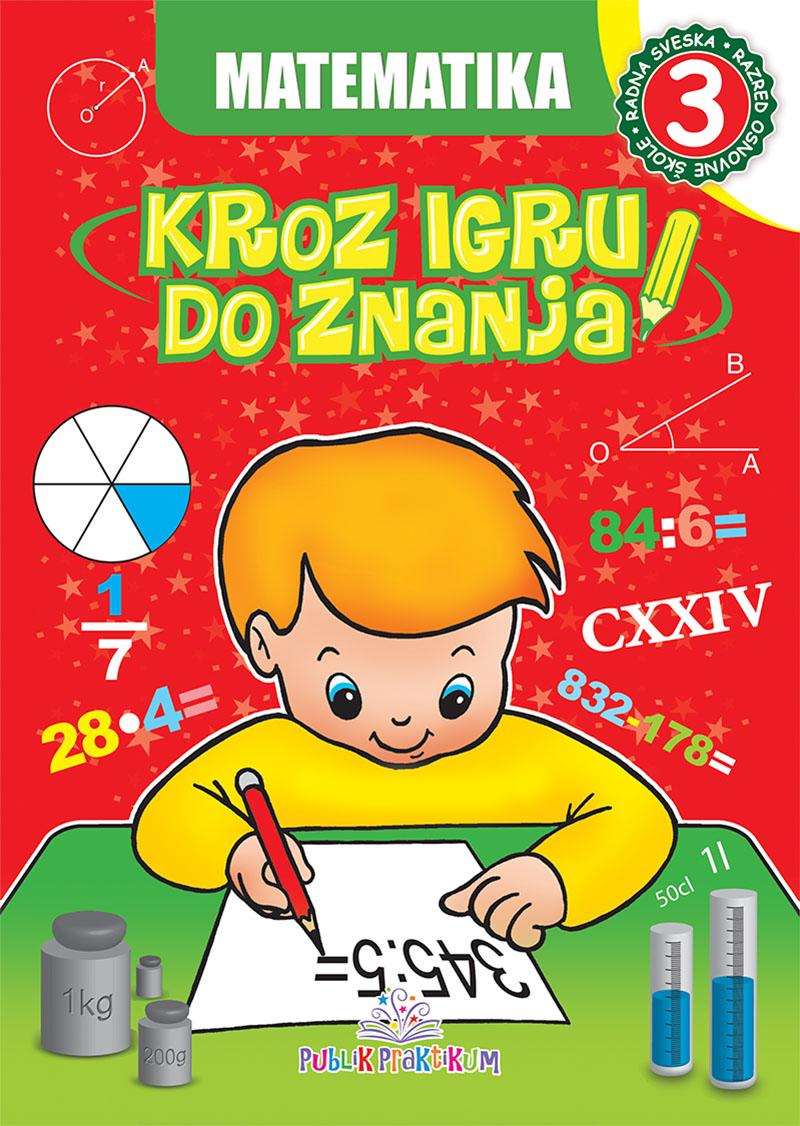 Matematika 3 – Kroz igru do znanja bosanski