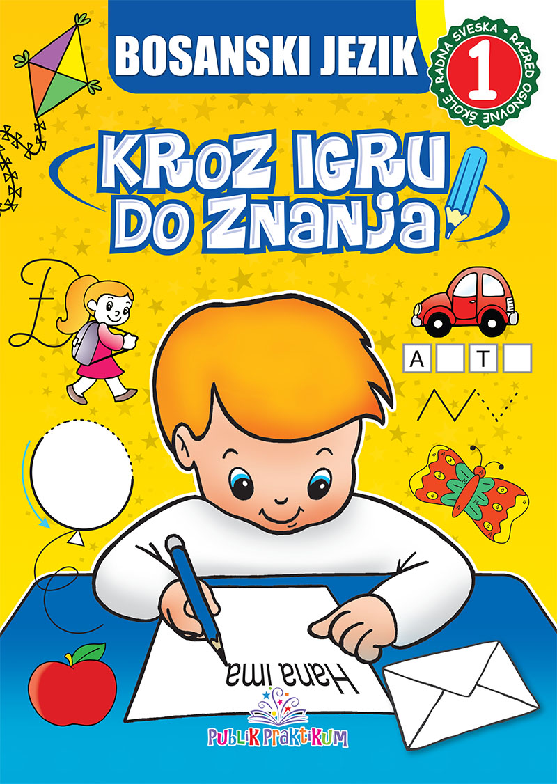 Bosanski jezik 1 – Kroz igru do znanja