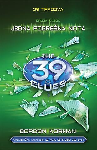 39 tragova: Jedna pogrešna nota – druga knjiga