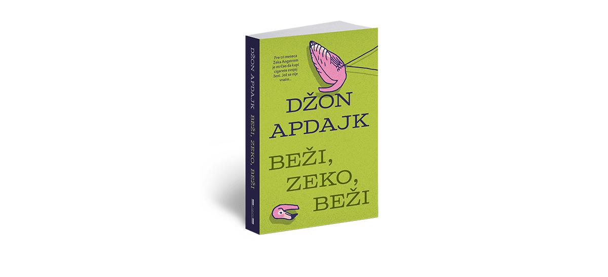Knjiga Beži, Zeko, beži Džona Apdajka
