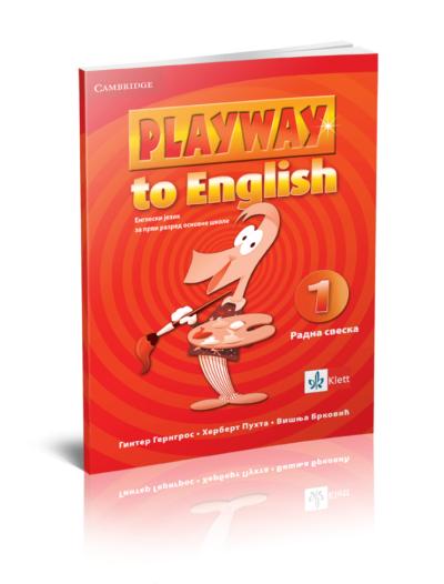 """Engleski jezik 1 - Radna sveska """"Playway to English 1"""""""