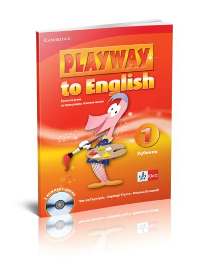 """Engleski jezik 1 - Udžbenik """"Playway to English 1"""""""