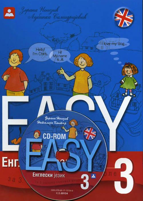 Easy 3 - Engleski jezik za 3. razred O.Š.