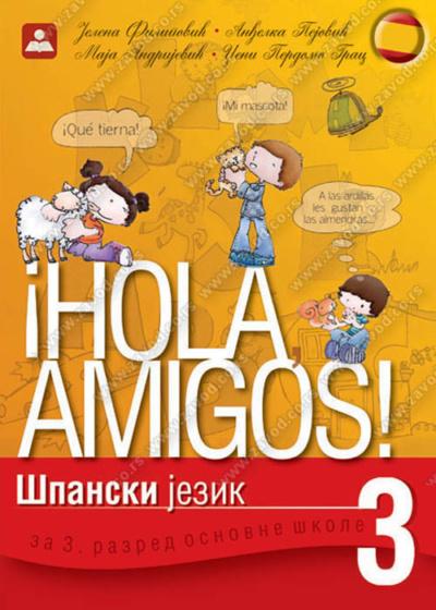 HOLA AMIGOS! 3 - udžbenik