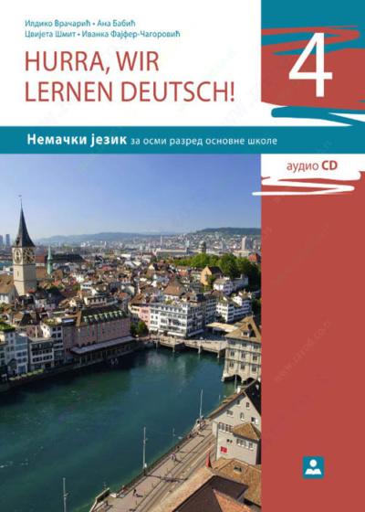 HURRA WIR LERNEN DEUTSCH 4-udžbenik za nemački jezik