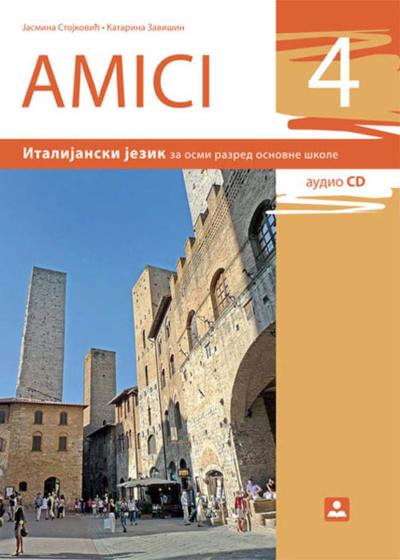 AMICI 4 - Udžbenik, Italijanski jezik