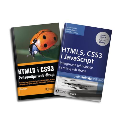 Komplet knjiga - HTML5, CSS3 i JavaScript