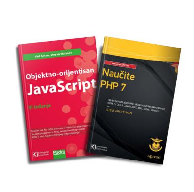 Komplet knjiga - JavaScript i PHP 7 objektno
