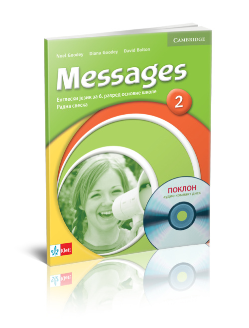 "Engleski jezik 6 - Radna sveska ""Messages 2"" + CD"