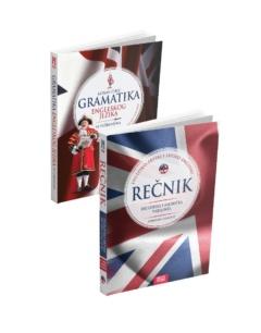 Komplet – Gramatika i Rečnik engleskog jezika