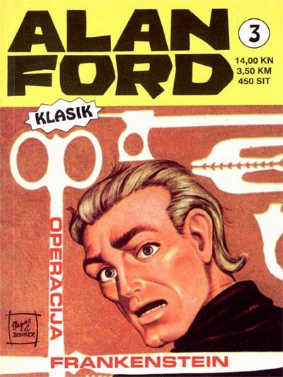 Alan Ford Klasik 3 Operacija Frankenstajn Vv