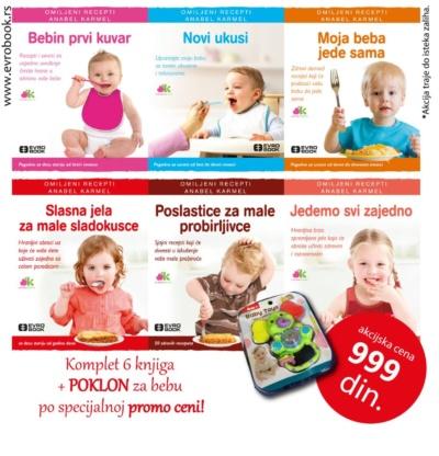 Bebi-kuvari – komplet + igračka