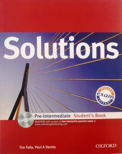 Solutions Pre Inter SB PK