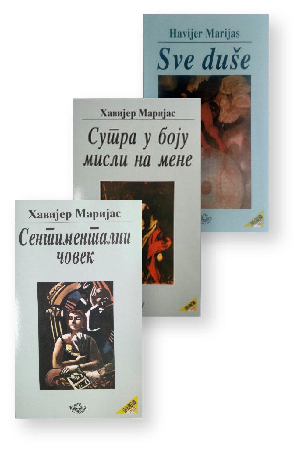 Komplet knjiga – Havijer Marijas