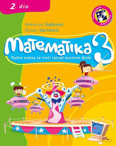 Matematika 3 : radna sveska za treći razred osnovne škole. Dio 2 - bosanski jezik