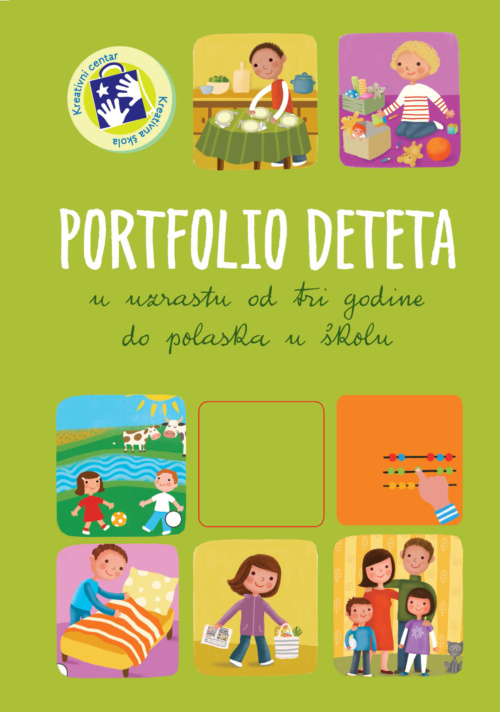 Portfolio deteta - od 3 godine do polaska u školu - latinica