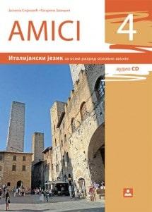 AMICI 4 - Udžbenik, Italijanski jezik (2019. god.)