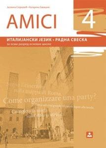 AMICI 4 - Radna sveska, Italijanski jezik