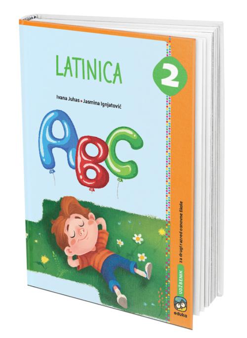 Latinica, udžbenik za 2 razred osnovne škole