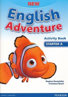 New English Adventure Starter A - radna sveska - engleski jezik za 1. razred osnovne škole