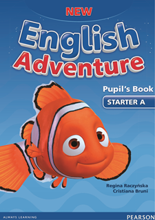 New English Adventure Starter A - udžbenik + DVD + E-tekst - engleski jezik za 1. razred osnovne škole