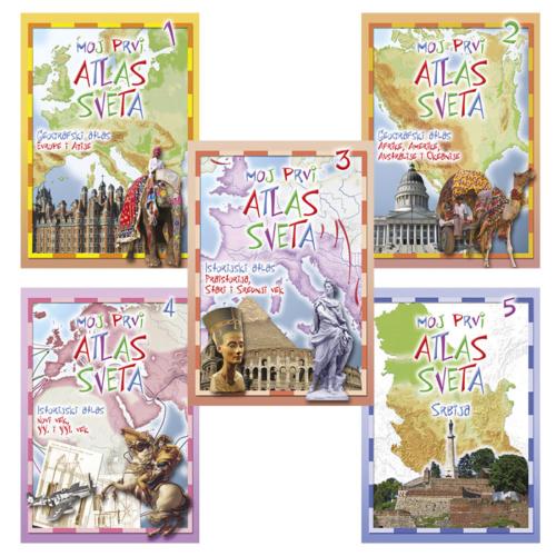 Moj prvi atlas komplet