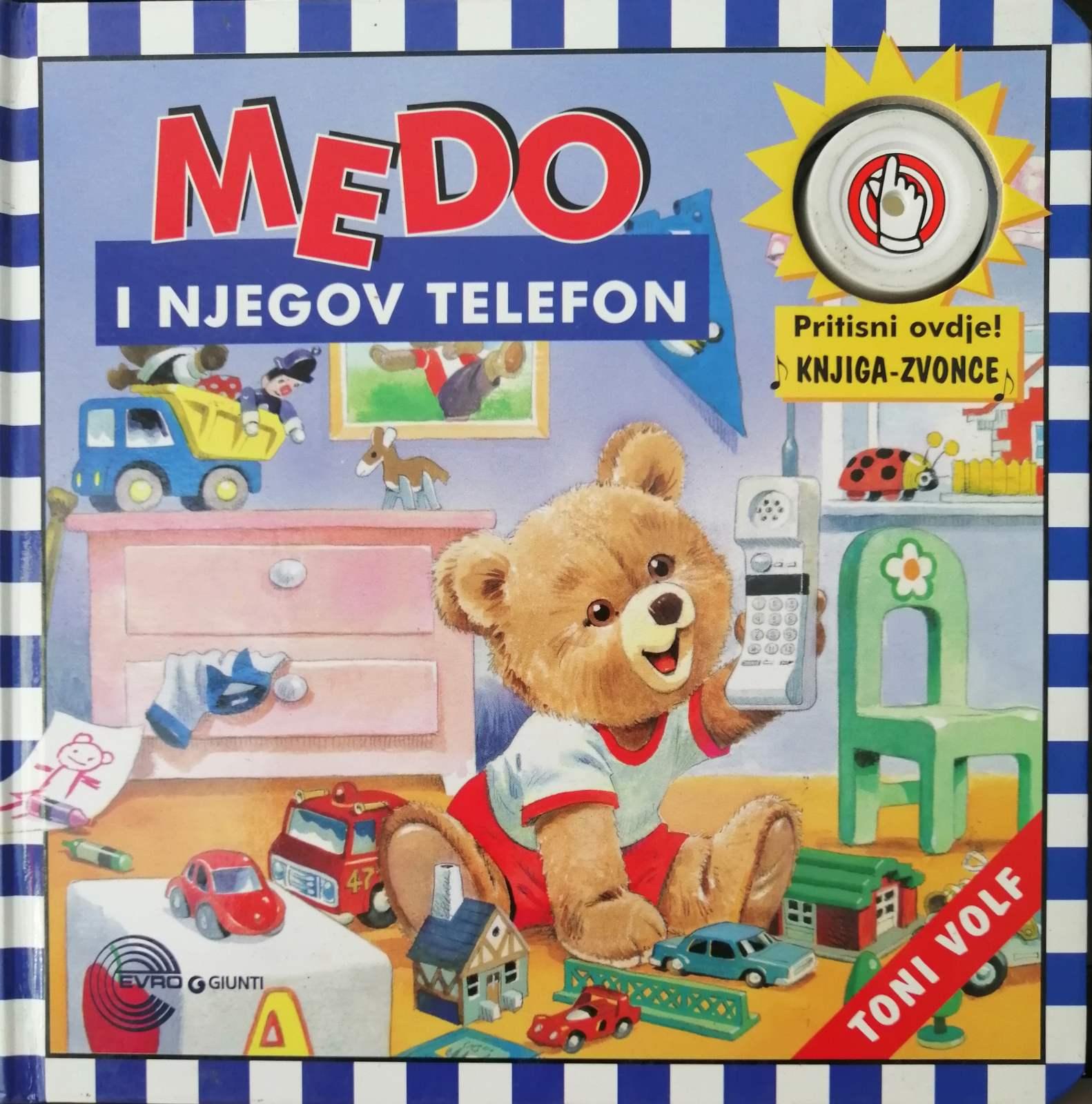 MEDO I NJEGOV TELEFON – OŠTEĆENO