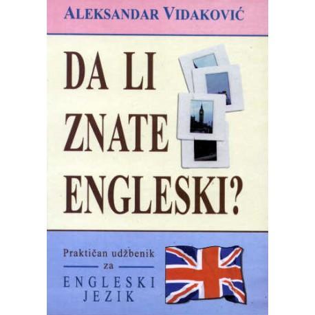 Da li znate engleski?