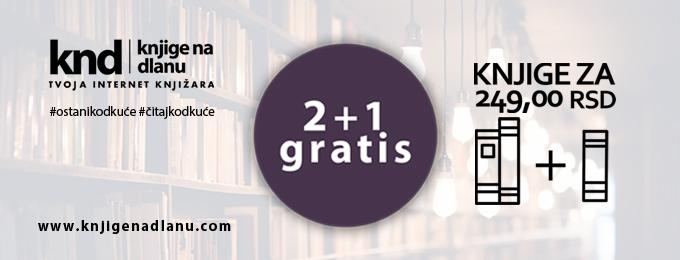 Knjige za 249rsd 2+1 gratis – Baner