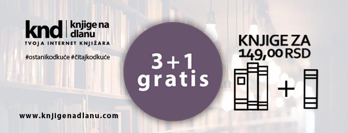 Knjige za 145rsd 3+1 gratis – Baner