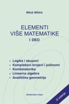 ELEMENTI VIŠE MATEMATIKE I DEO