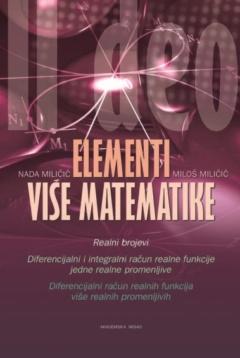 ELEMENTI VIŠE MATEMATIKE II DEO