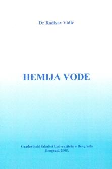 HEMIJA VODE