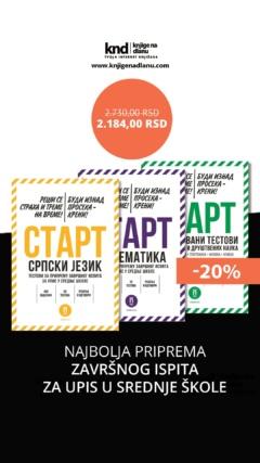 START TESTOVI KOMPLET – PRIPREMA ZAVRŠNOG ISPITA ZA UPIS U SREDNJE ŠKOLE
