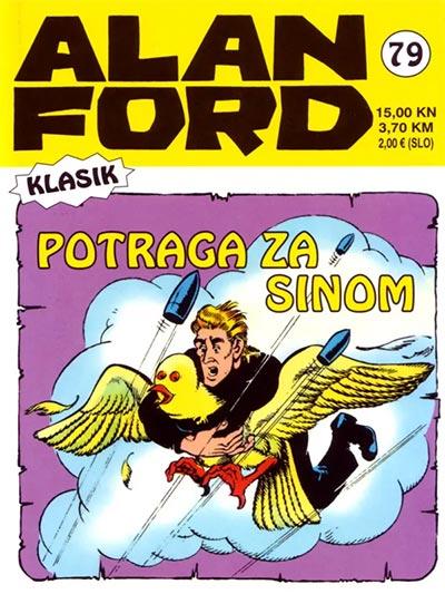 Alan Ford Klasik 79 Potraga Za Sinom Vv