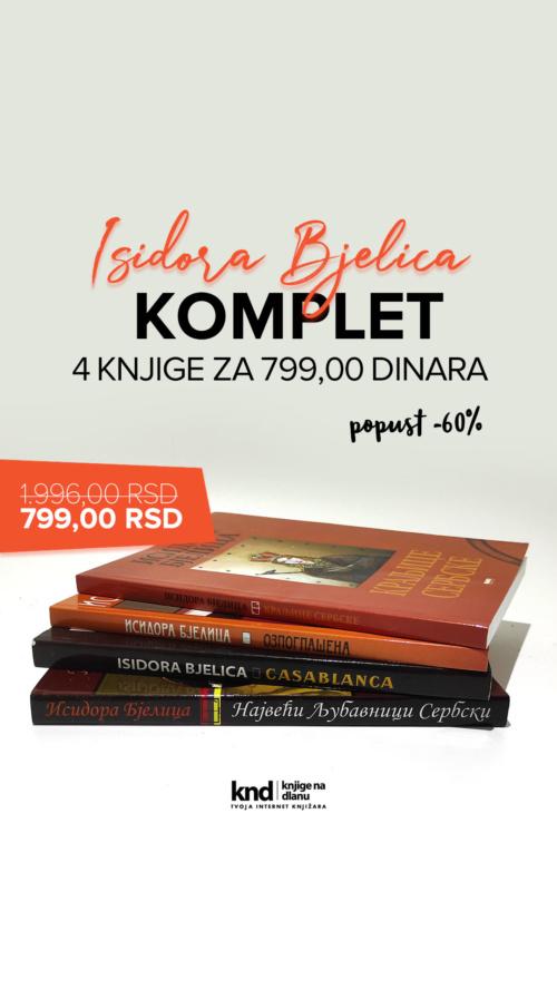 Isidora Bjelica Kraljevski Komplet Jun 4 Knjige Za 799 Dinara Ig Story