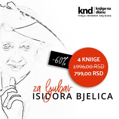 Isidora Bjelica Komplet 4 Knjige Knd Fb 1080x1080 Ispravna