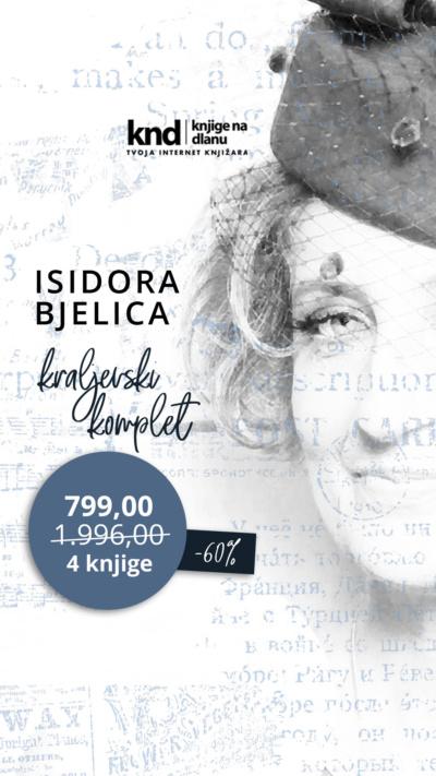 Isidora Bjelica Komplet 4 Knjige Knd Ig Story 1080x1920